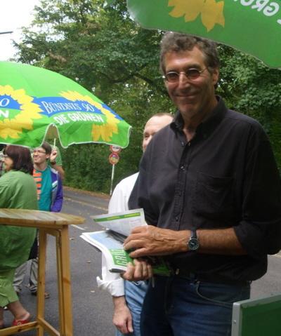 Straßenfest am Vorwahltag